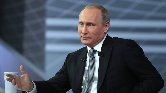 President of Russia Vladimir Putin. 'Learn from Israel. It never lets go.' (Photo: AFP)