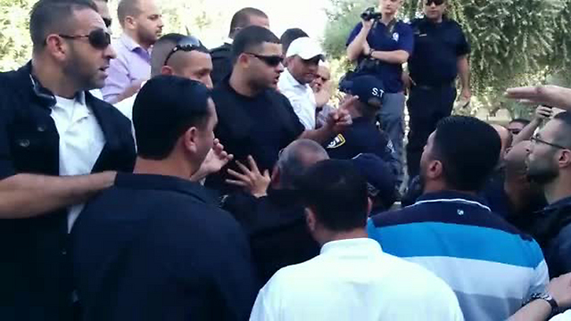 Verbal clashes on the Temple Mount.