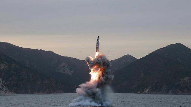 Archive photo: North Korean test launches ballistic missile (Photo: Reuters) (Photo: Reuters)