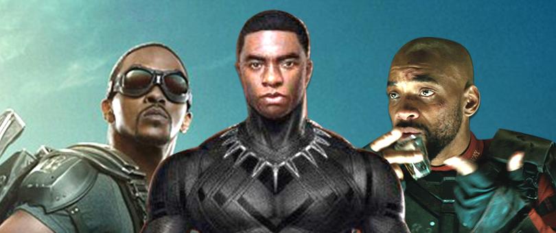 אנתוני מקי הפלקון פלקון קפטן אמריקה וויל סמית' סמית יחידת המתאבדים דדשוט בלאק פנת'ר