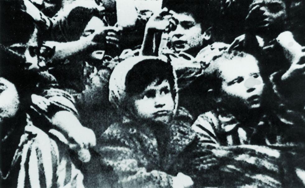 Children in the Holocaust (Photo: EPA)