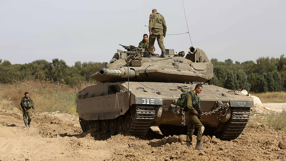 IDF tank (Photo:AFP)