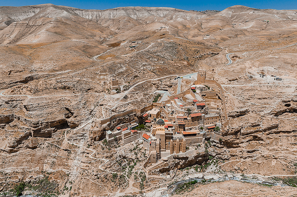 Mar Saba Monastery, Kidron Valley (Photo: Israel Berdugo)