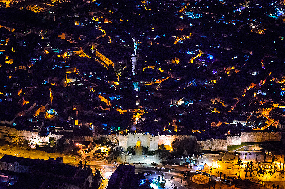 Damascus Gate in the Old City to Jerusalem (Photo: Israel Berdugo)