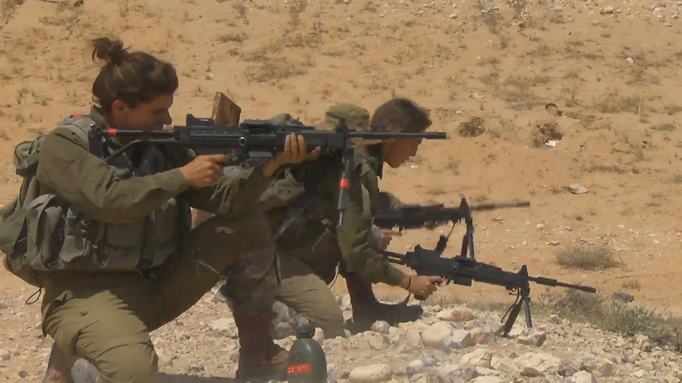 The number of female combatants in the IDF is on the rise. (Photo: Roee Idan)