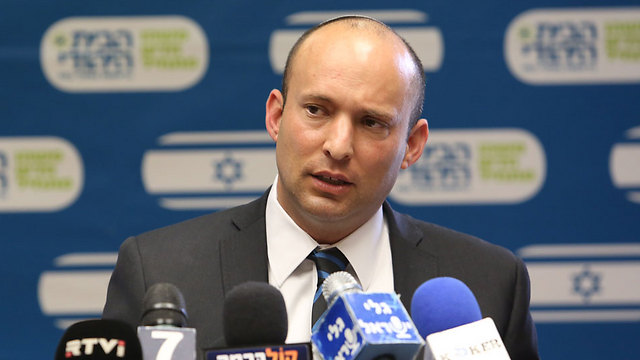 Education Minister Naftali Bennett (Photo: Gil Yohanan)
