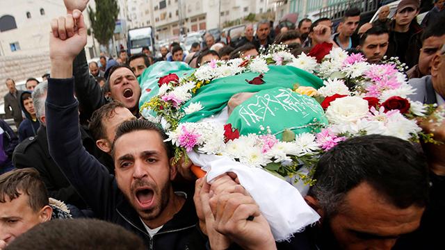 A terrorist's funeral (Photo: Reuters) (Photo: Reuters)