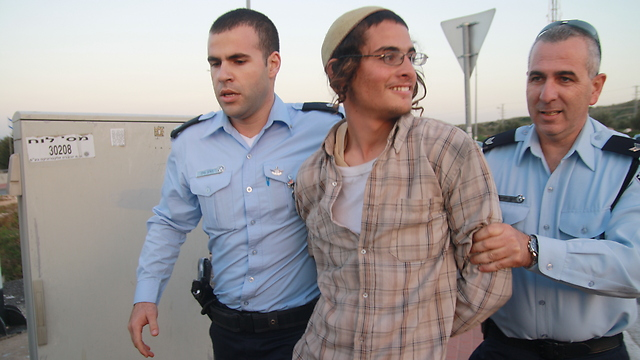 Meir Ettinger released from administrative detention (Photo: Ehud Amiton/TPS)