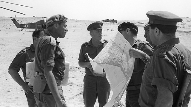 (Photo: IDF Archieves in the Ministry of Defense and Bamachane)