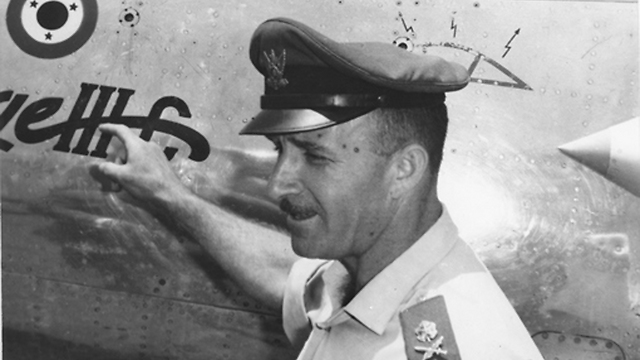 General Motti Hod, head of the Israel Air Force (Photo: IDF Archieves in the Ministry of Defense and Bamachane)