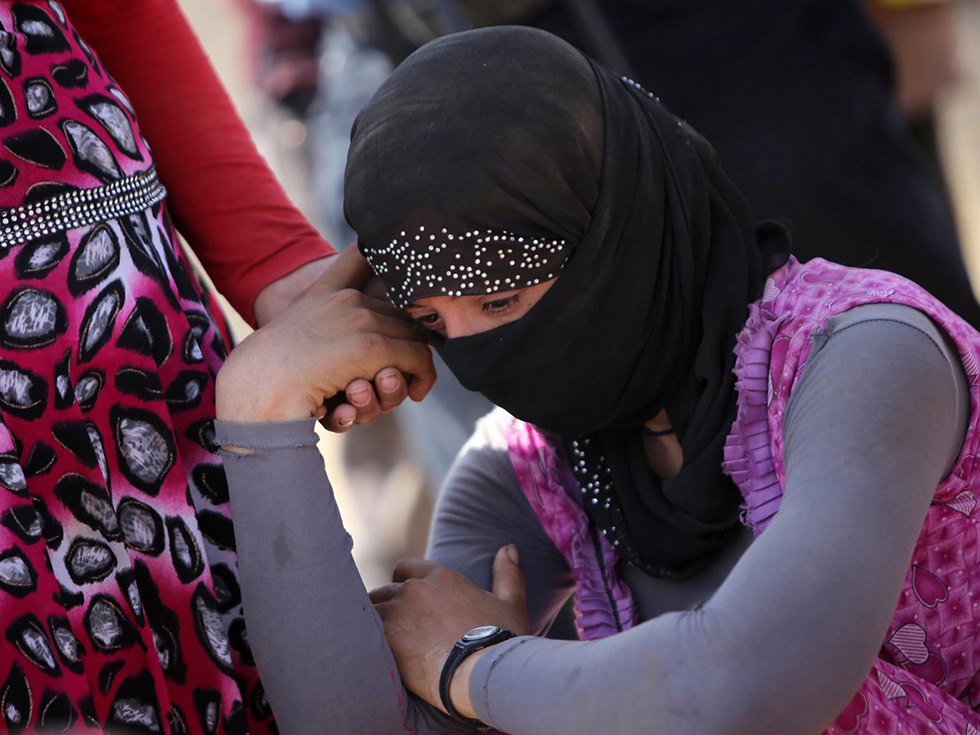 Yazidi women (Photo: AFP)
