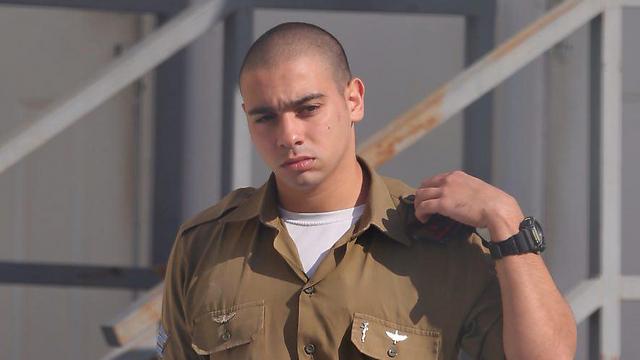 Sgt. Elor Azaria (Photo: Mtti Kimchi)