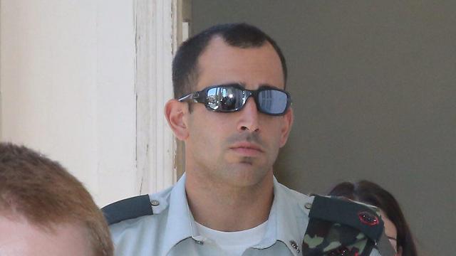 Azaria's company commander Maj. Tom Na'aman (Photo: Motti Kimchi)