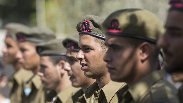 Newly sworn-in soldiers (Photo: EPA)