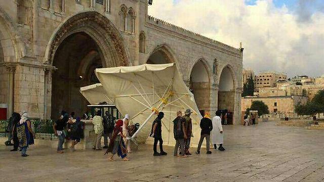 Милиция Израиля закрыла Храмовую гору для посещения туристами инемусульманами