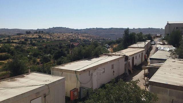 Attack in Kiryat Arba (Photo: TPS)