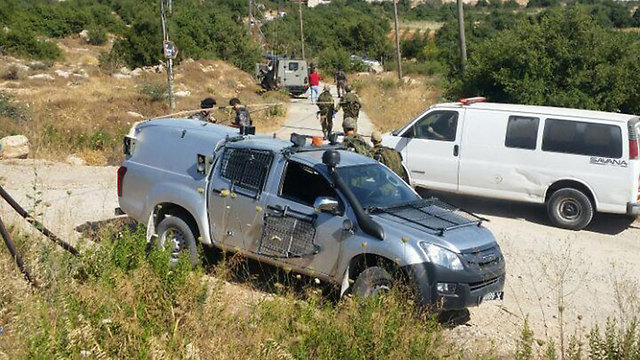 Kiryat Arab attack (Photo: TPS)