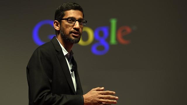 """מנכ""""ל גוגל, סונדאר פיצ'אי (צילום: AFP)"""