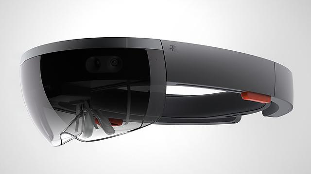 HoloLens של מיקרוסופט (צילום: מיקרוסופט)
