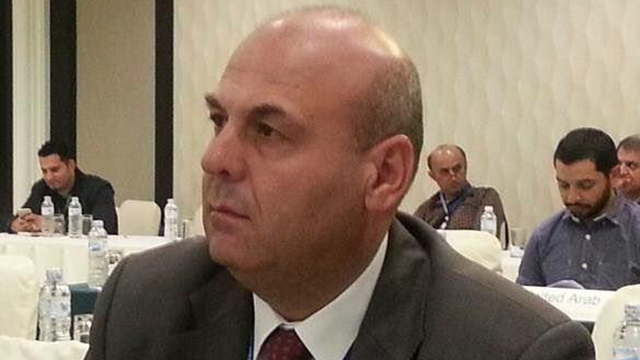 """Head of the Lebanese delegation Salim al-Haj Nakoula. """"They have a bus of their own."""""""