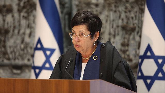 Supreme Court Chief Justice Miriam Naor (Photo: Gil Yohanan)