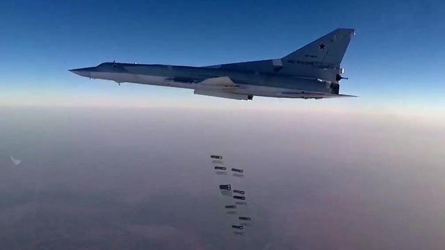 Russian fighter jet bombing ISIS targets in Syria (Photo: EPA/File)