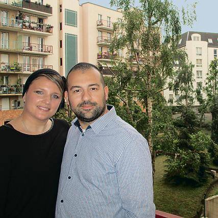 Yael and Yohan Sahal at their home in Paris (Photo: Tal Shahar)