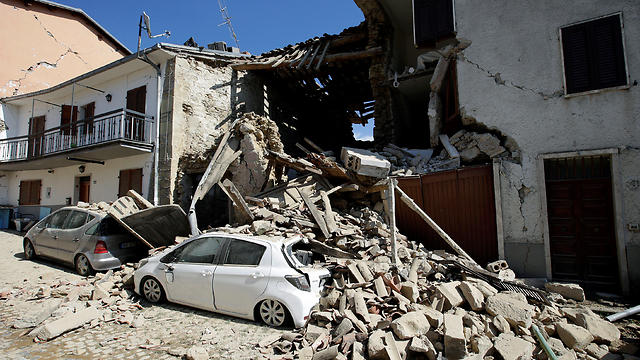 A building struck by the recent earthquake in Italy (Photo: Reuters)