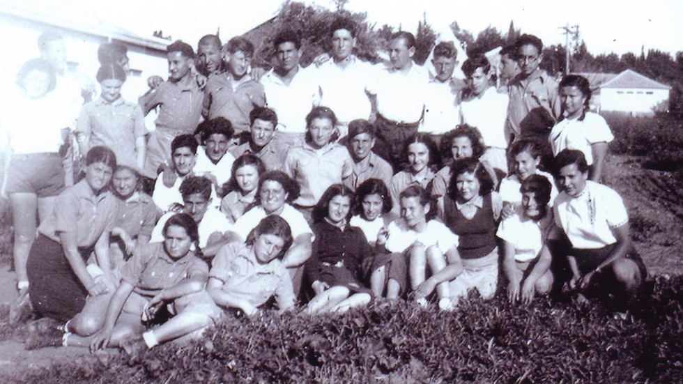 Peres as a student (Photo: Shimon Peres Archive)