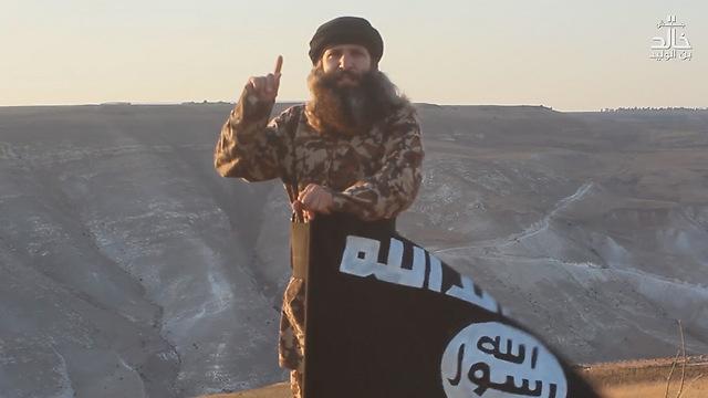 מתוך סרטון של הפלג המזוהה עם דאעש בדרום הגולן הסורי ()