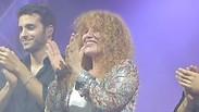 צפו: נורית גלרון על הבמה