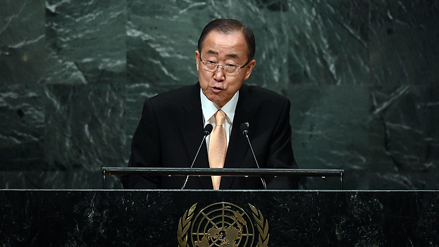 UN Secretary-General Ban Ki-moon (Photo: AFP) (Photo: AFP)