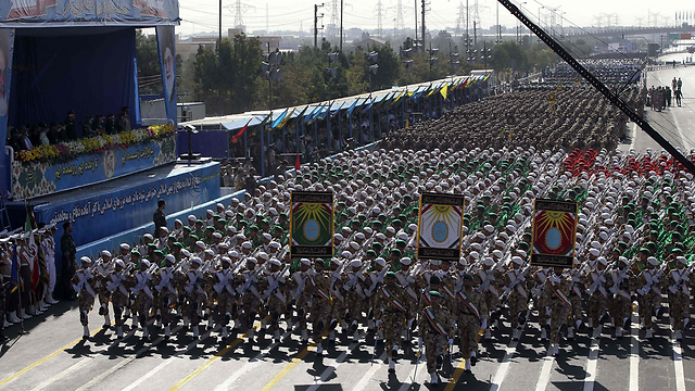 Iranian military parade (Photo: AFP) (Photo: AFP)