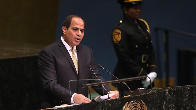 עבד אל פתח א-סיסי, נשיא מצרים (צילום: AFP)