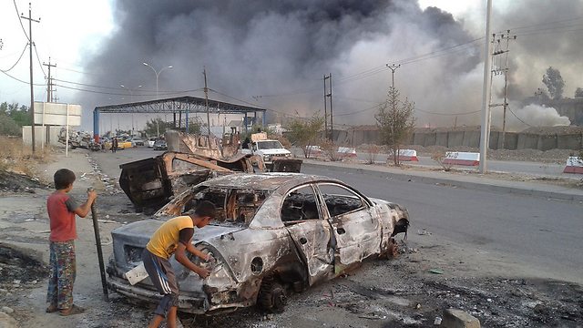 The trail of destruction in Mosul (Photo: Reuters)