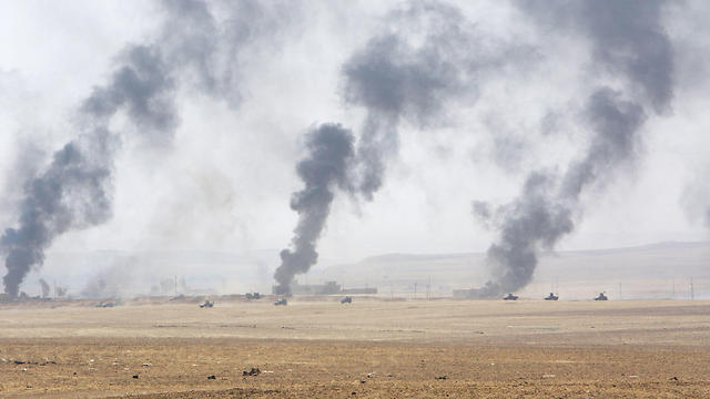 The Iraqi city of Mosul and surrounding area, under attack by ISIS and Iraqi and Kurdish forces (Photo: Reuters)