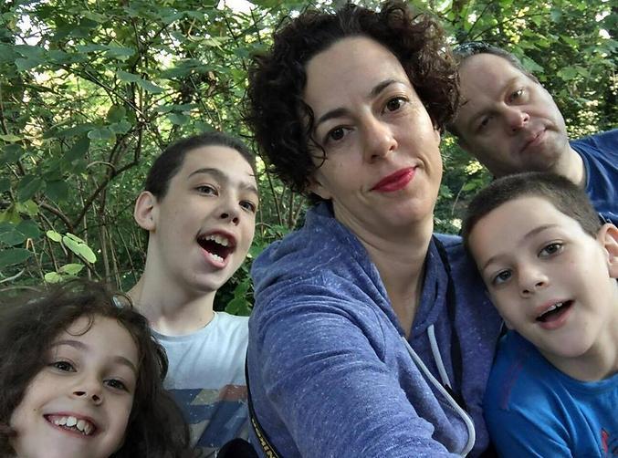 משפחת ברק (צילום: אלבום פרטי)