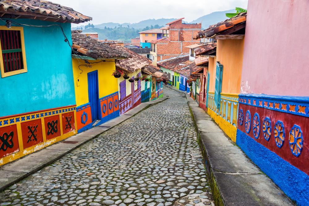 כמעט כל מקורות הכלכלה במדינה צורכים מים רבים. קולומביה (צילום: Shtterstock)