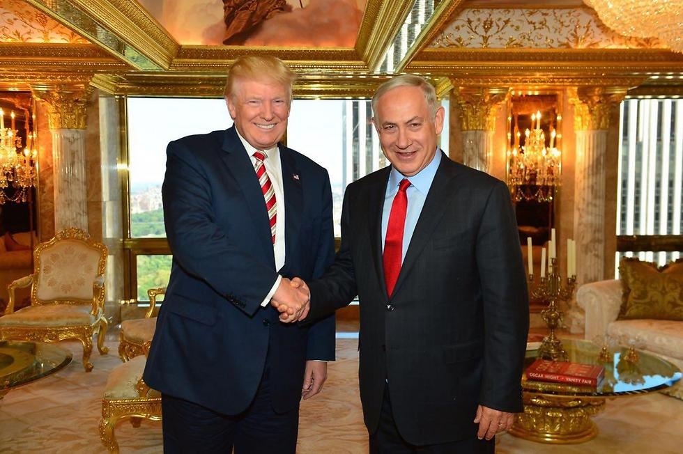 Trump and Netanyahu meet ahead of the elections (Photo: Koby Gideon, GPO)