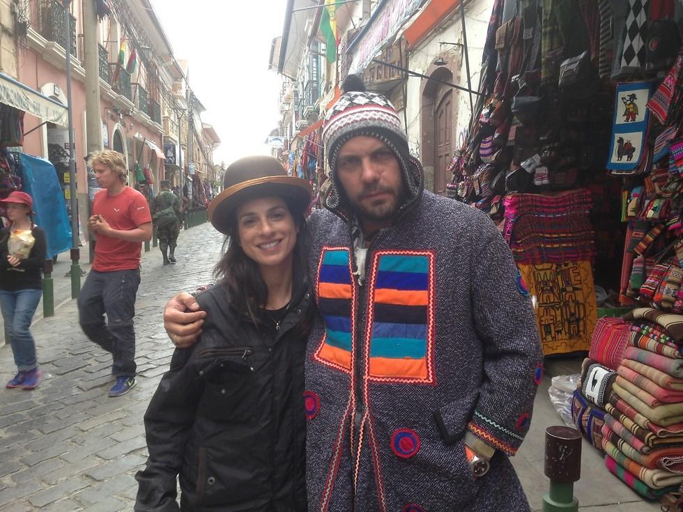קניות בשוק בלה פאס (את נסלי ברדה לא קניתי, היא להמחשה בלבד) (צילום: ניר פדרבוש)