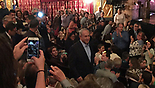 Crowds photograph Netanyahu in New York Theater