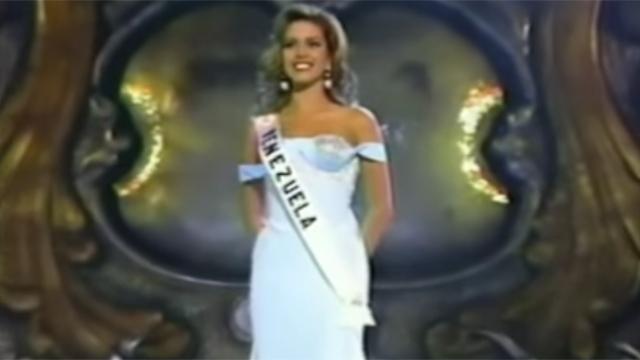 """""""מיס פיגי"""". מיס יוניברס 1996 אליסיה מצ'אדו"""