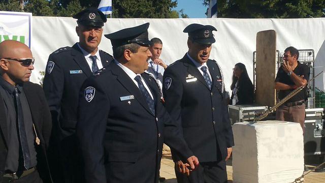 Police Comissioner Roni Alsheikh (Photo: Idan Arbelly)