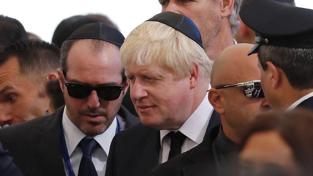 British Foreign Foreign Secretary Johnson (Photo: AP)