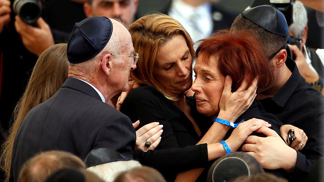 Peres's daughter, Dr. Tsvia Walden (Photo: Reuters)