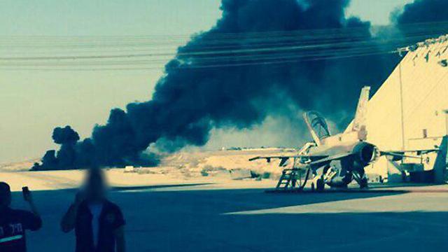 Пилот ВВС Израиля умер при катапультировании изF-16