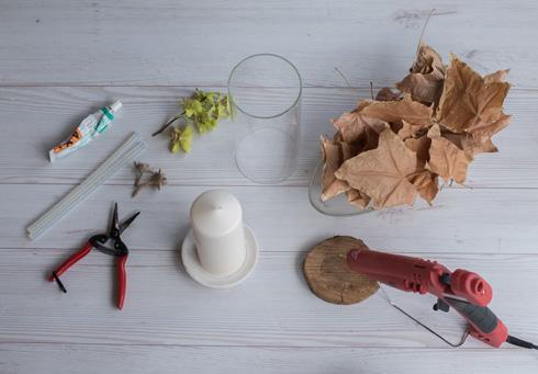 הכנת נר דקורטיבי (צילום: זוהר שרעבי)