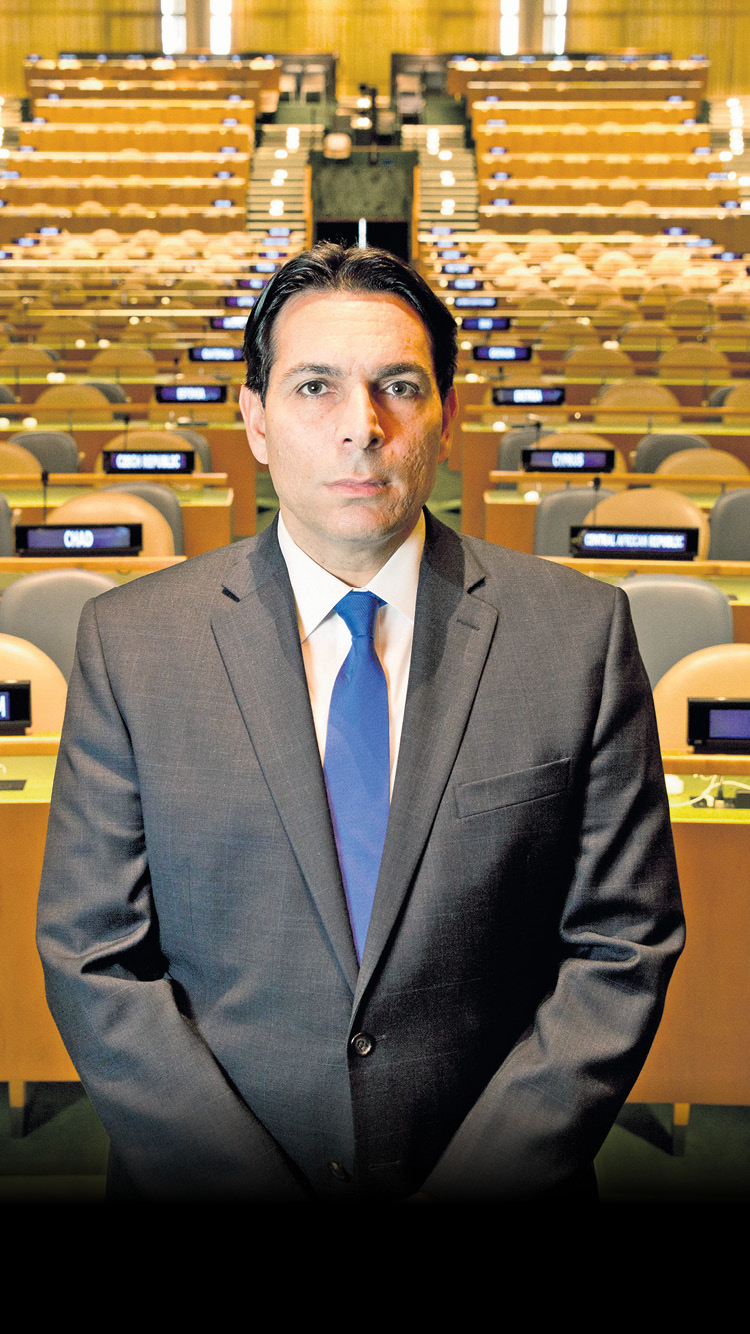 Danon. 'After I complete my term here I will return to Israel and be very active' (Photo: Nadav Neuhaus)