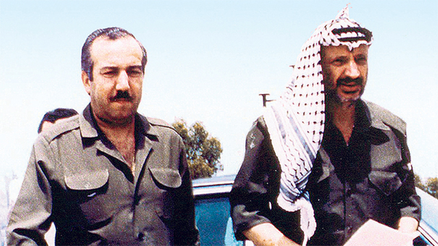 Palestinian leader Yasser Arafat with Abu Jihad (Photo: AP) (Photo: AP)
