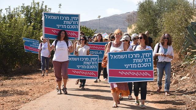 200 women demand peace agreement on Israel's Lebanese border